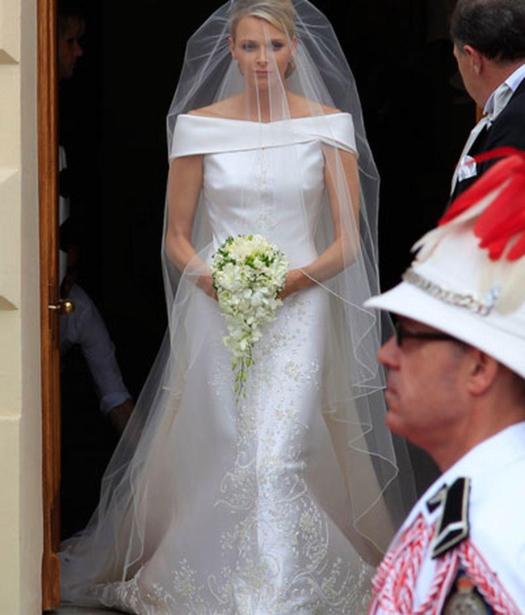 De Armani en su boda religiosa