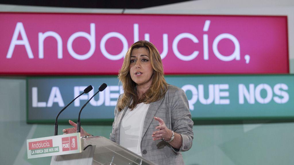 """Susana Díaz avisa: """"El secreto del PSOE de Andalucía es la unidad"""""""