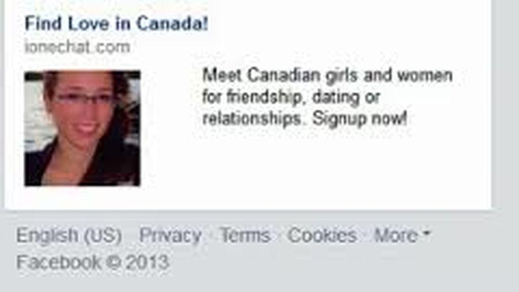 La imagen de Rehtaeh Parsons en el anuncio de contactos de Facebooks