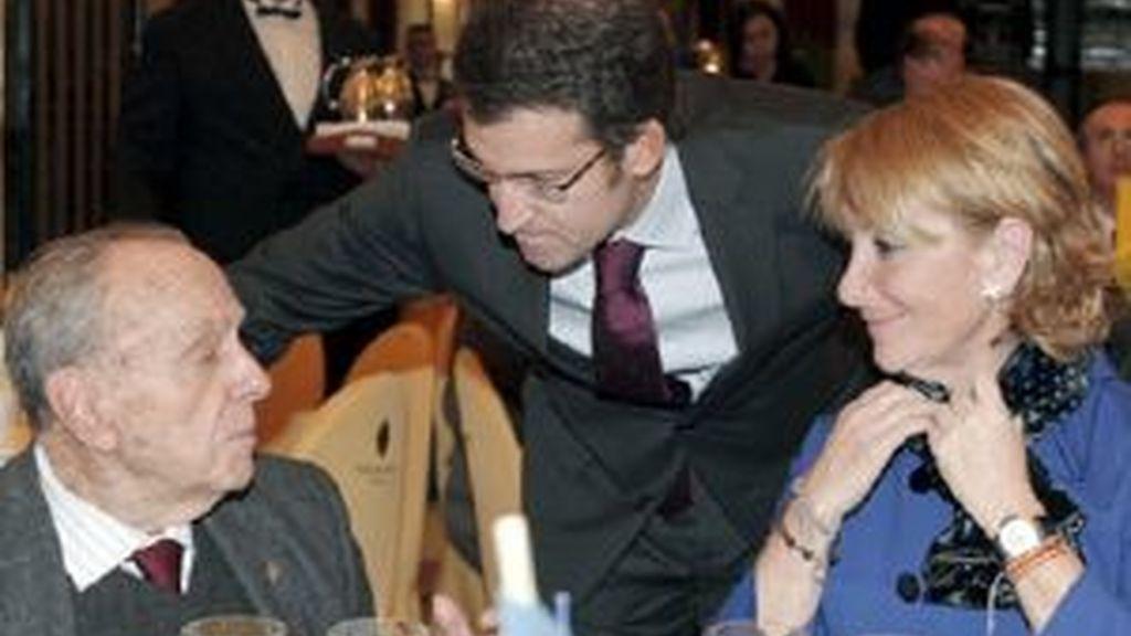 """Aguirre acepta para que """"se sepa que no ha espiado a nadie"""". Vídeo:ATLAS"""