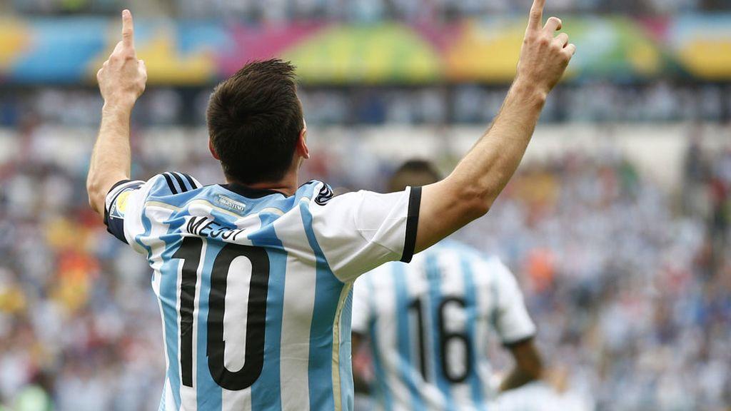 Las mejores imágenes del Nigeria-Argentina