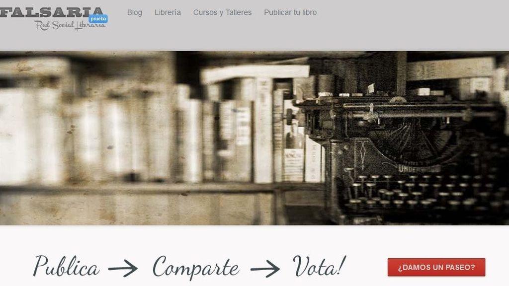 Página web de Falsaria