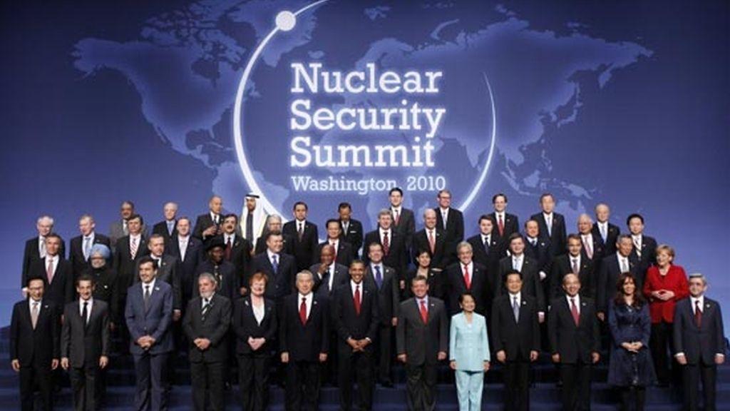 2010: Cumbre sobre seguridad Nuclear en Washington