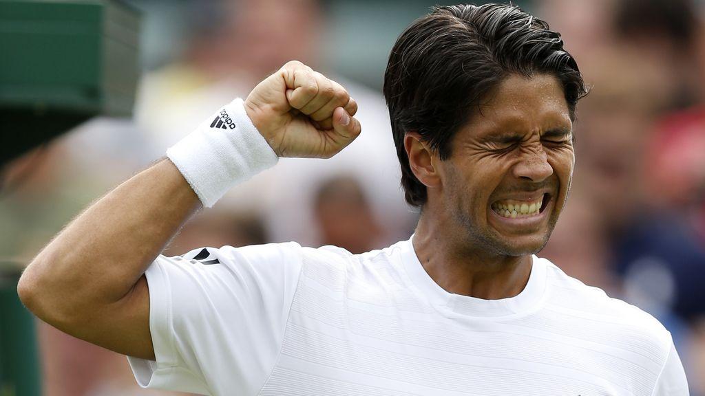 Fernando Verdasco en Wimbledon