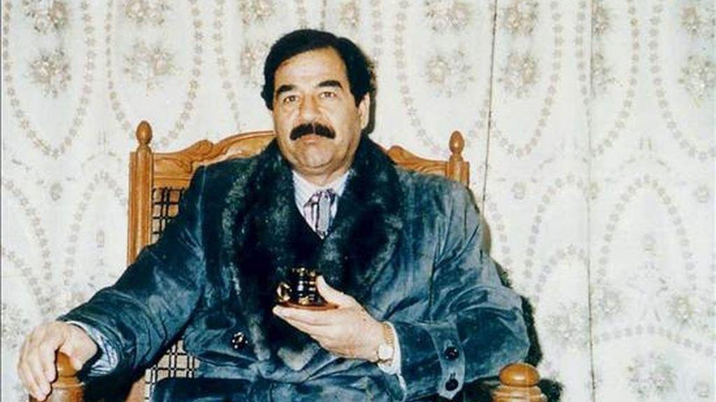 El ex presidente iraquí, Sadam Husein, en una imagen de Archivo. EFE