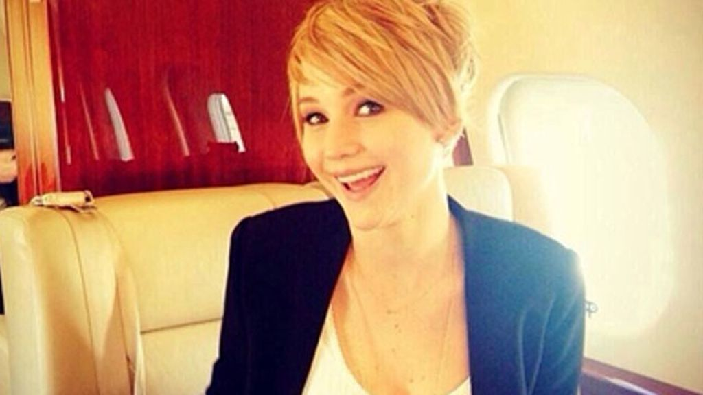 Jennifer Lawrence y su corte pixie