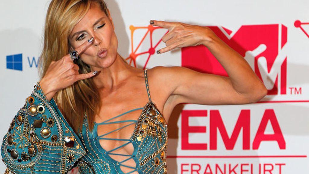 Glamour en los MTV Europa