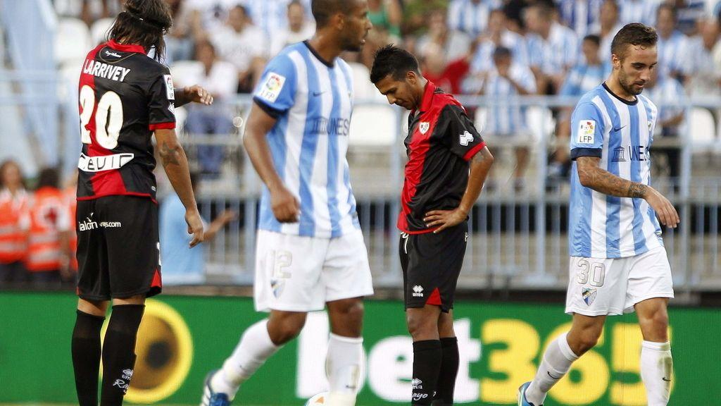 Málaga 0-5 Rayo Vallecano