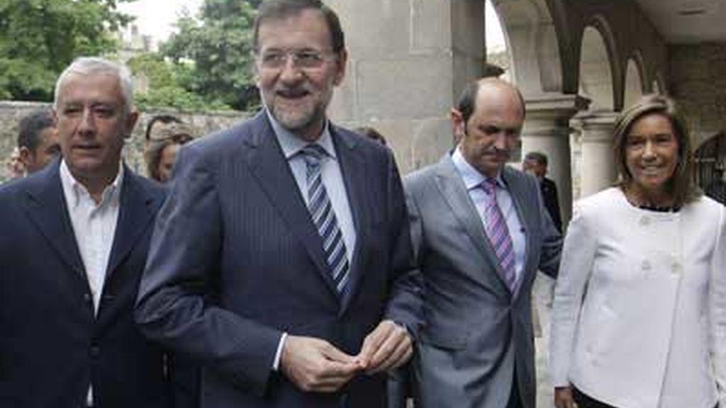 El líder del PP evita pronunciarse sobre la situación del presidente de la comunidad valenciana, Francisco Camps.