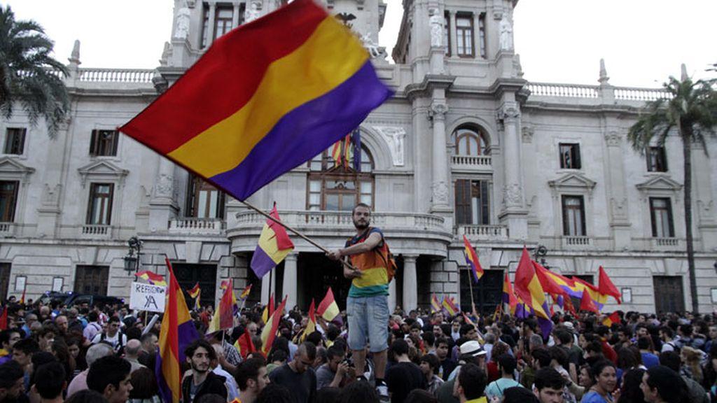 El espíritu republicano sacude Valencia