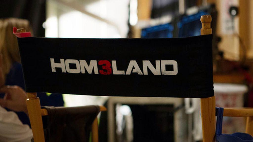 Las primeras fotos del rodaje de 'Homeland'