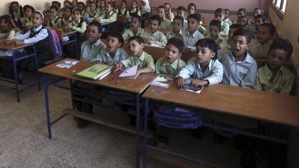 Un profesor egipcio arrestado tras la muerte de un alumno