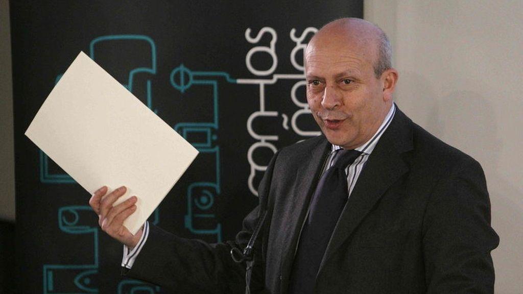 Ministro de Educación, Cultura y Deporte, José Ignacio Wert (EFE)