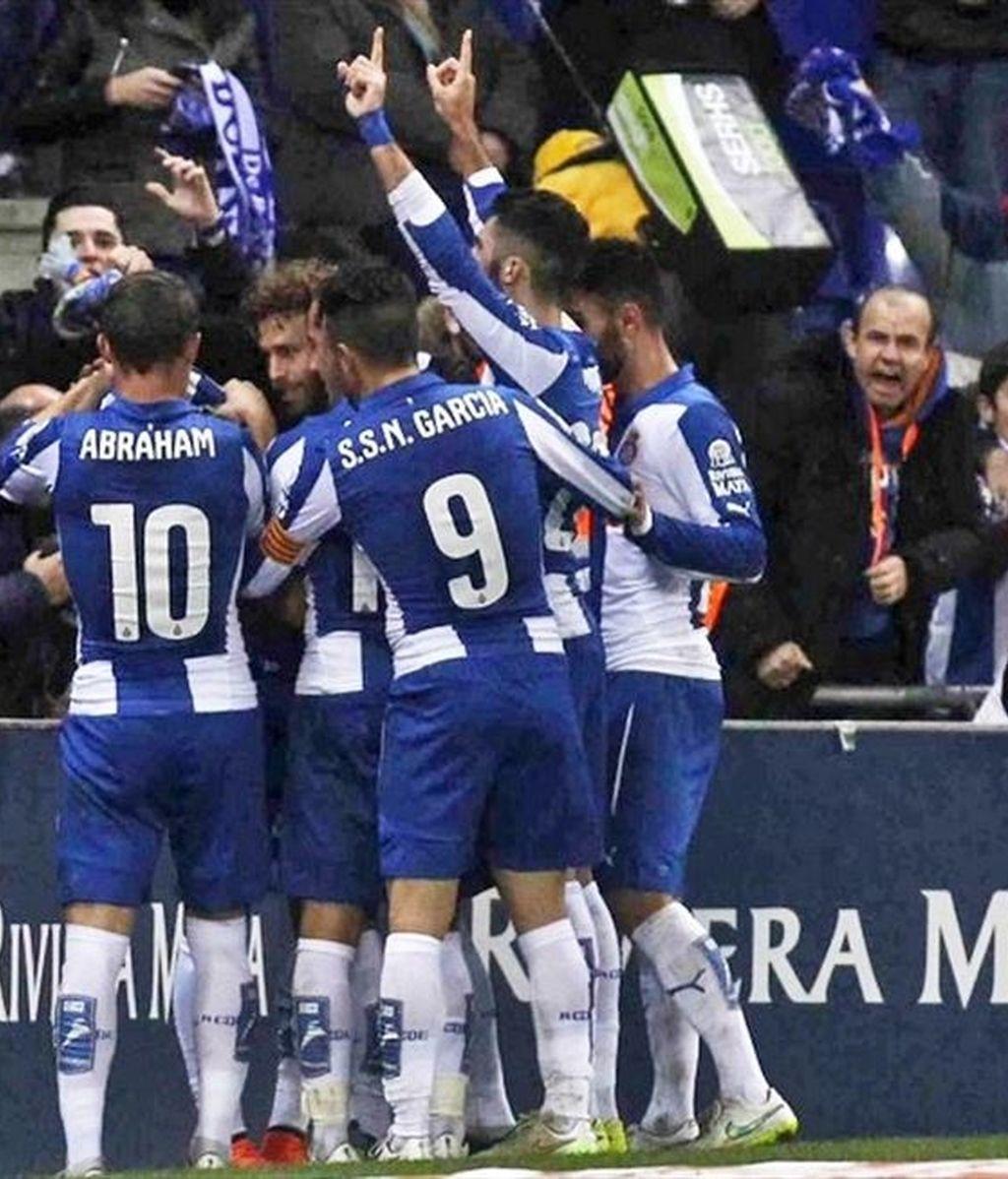Caicedo mete al Espanyol en cuartos de final