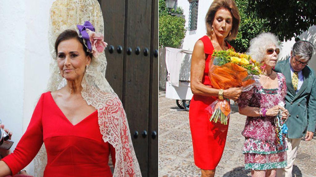 Polémica entre Carmen Tello y Naty Abascal