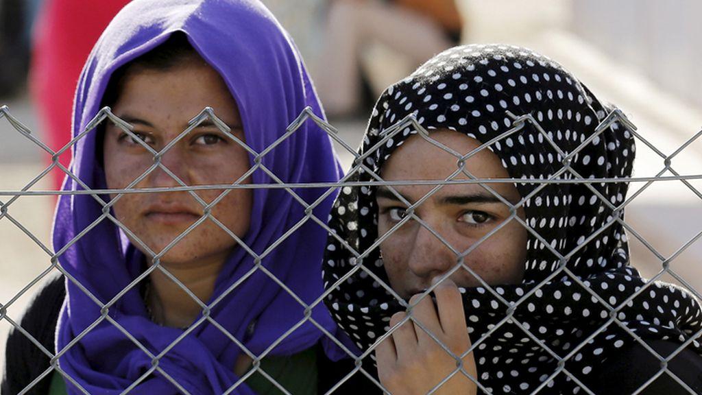 Jóvenes yazidíes