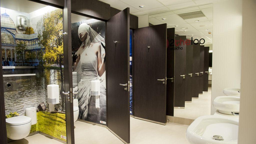 Presentados los nuevos lavabos de pago de la estación de Atocha