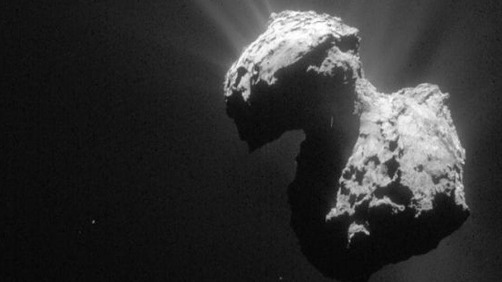 La nave Rosetta detecta oxígeno molecular en el cometa 67P