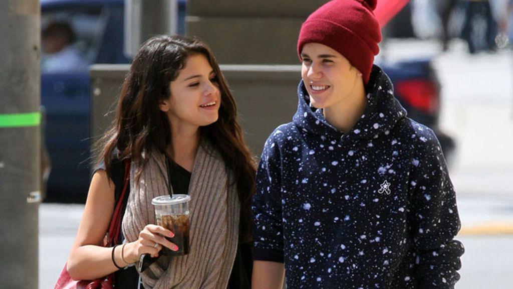 Selena y Justin, como dos tortolitos