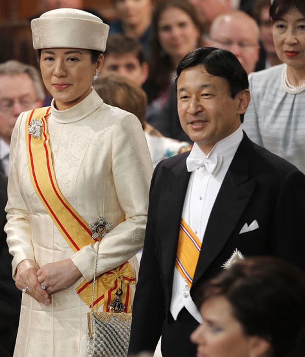 Naruhito y Masako, monarcas de Japón