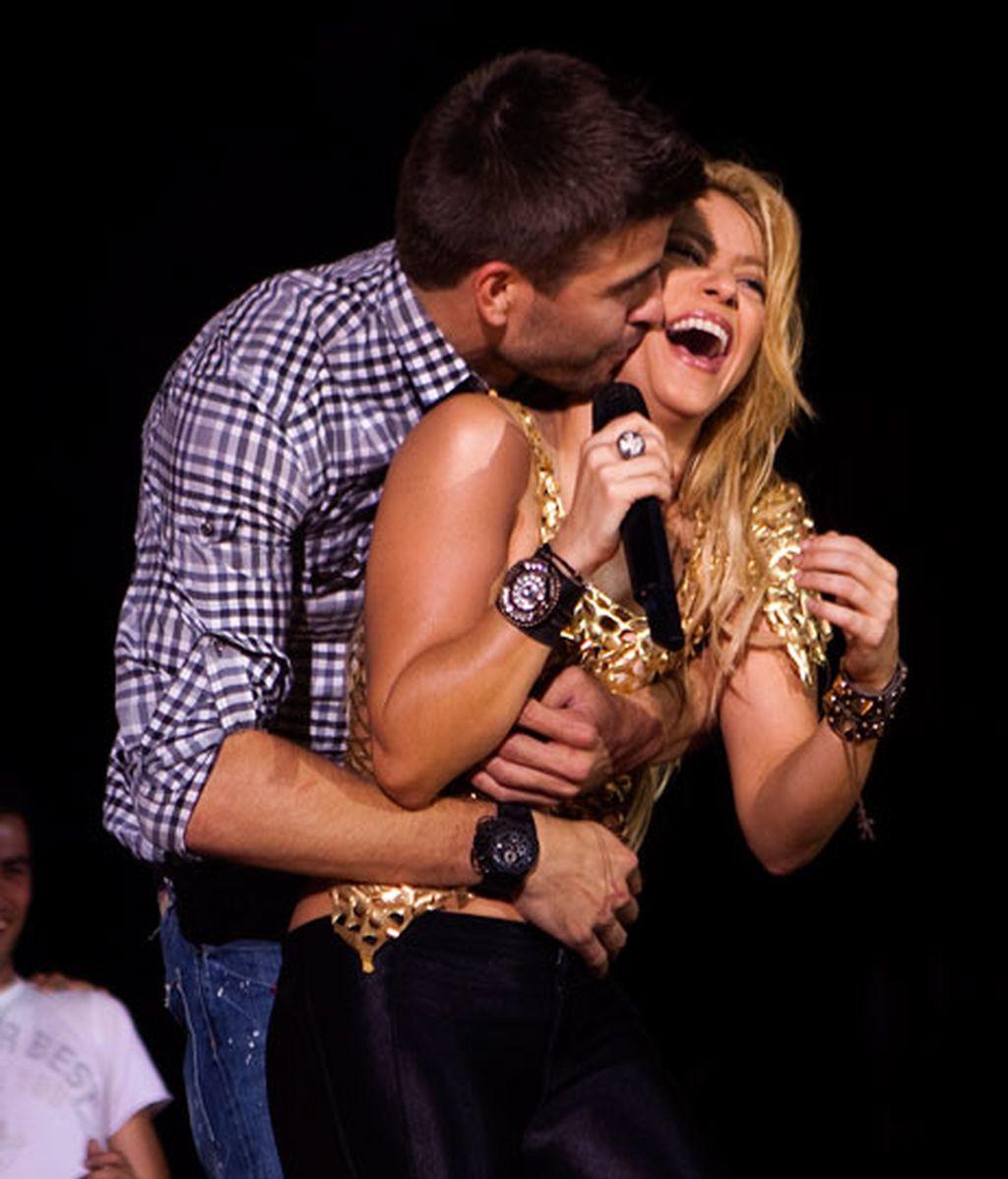 Shakira y Piqué, un año de amor