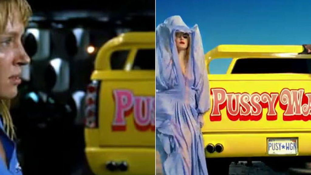 Lady Gaga y Beyoncé en 'Telephone'