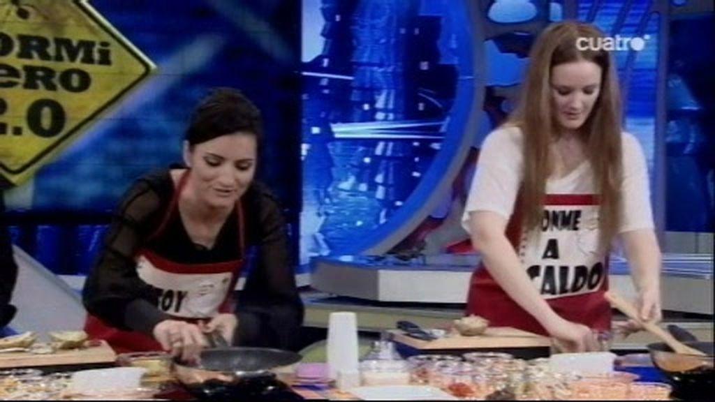 Lore y Macu se marcan una papa-pizza
