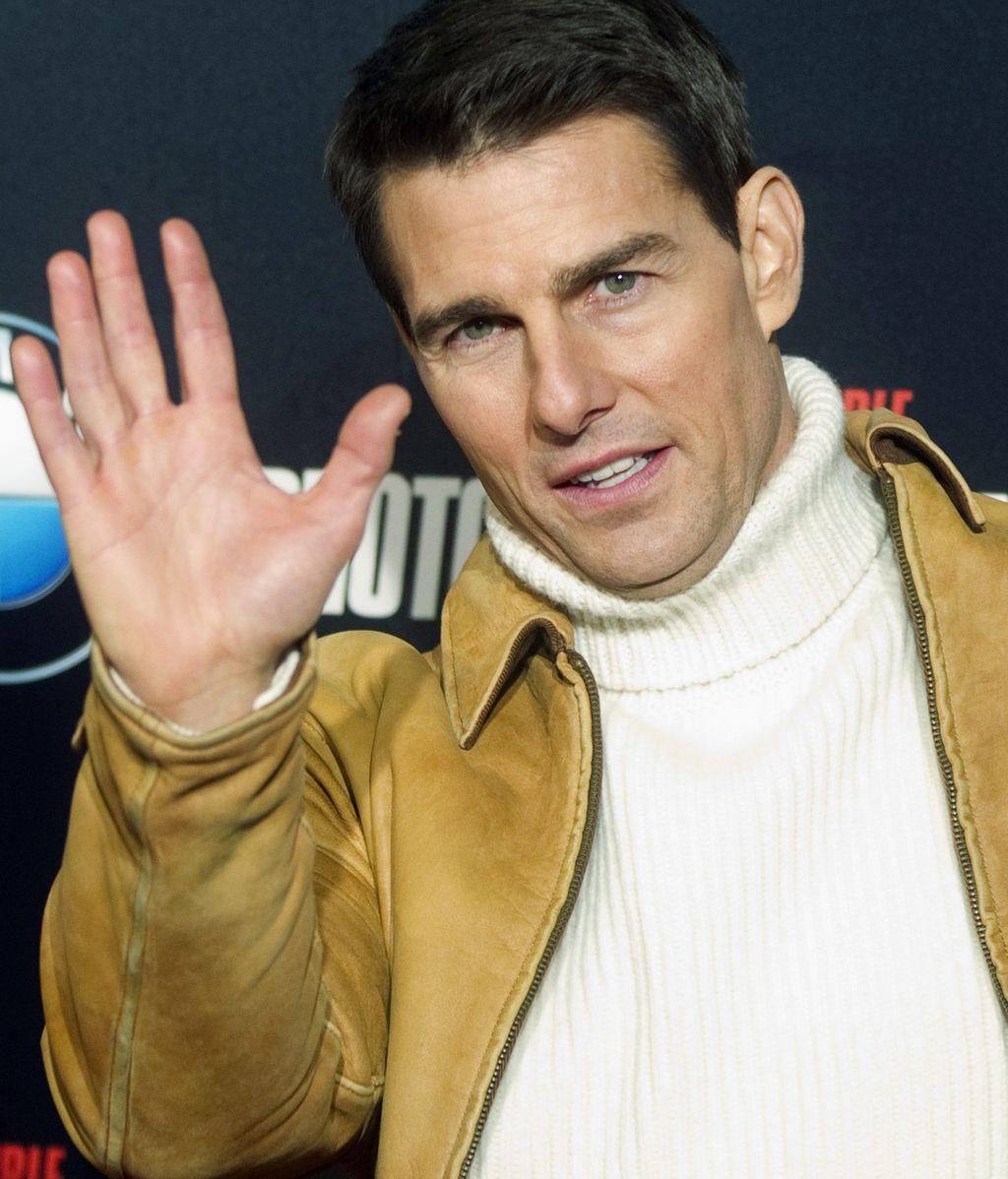 Tom Cruise presenta en Madrid \