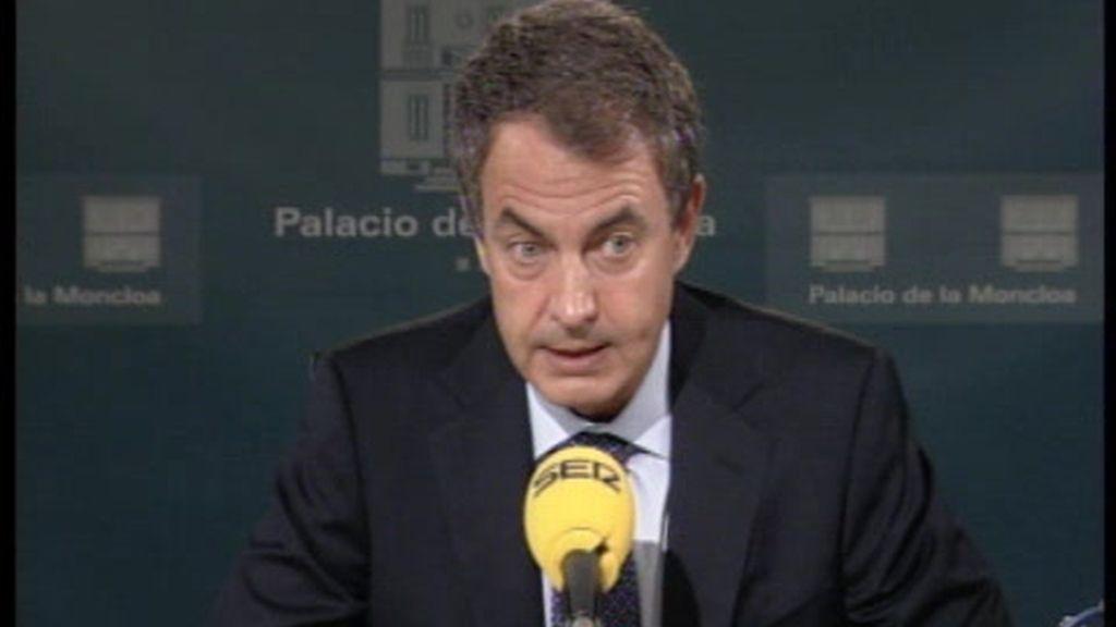 Zapatero se confiesa en una entrevista