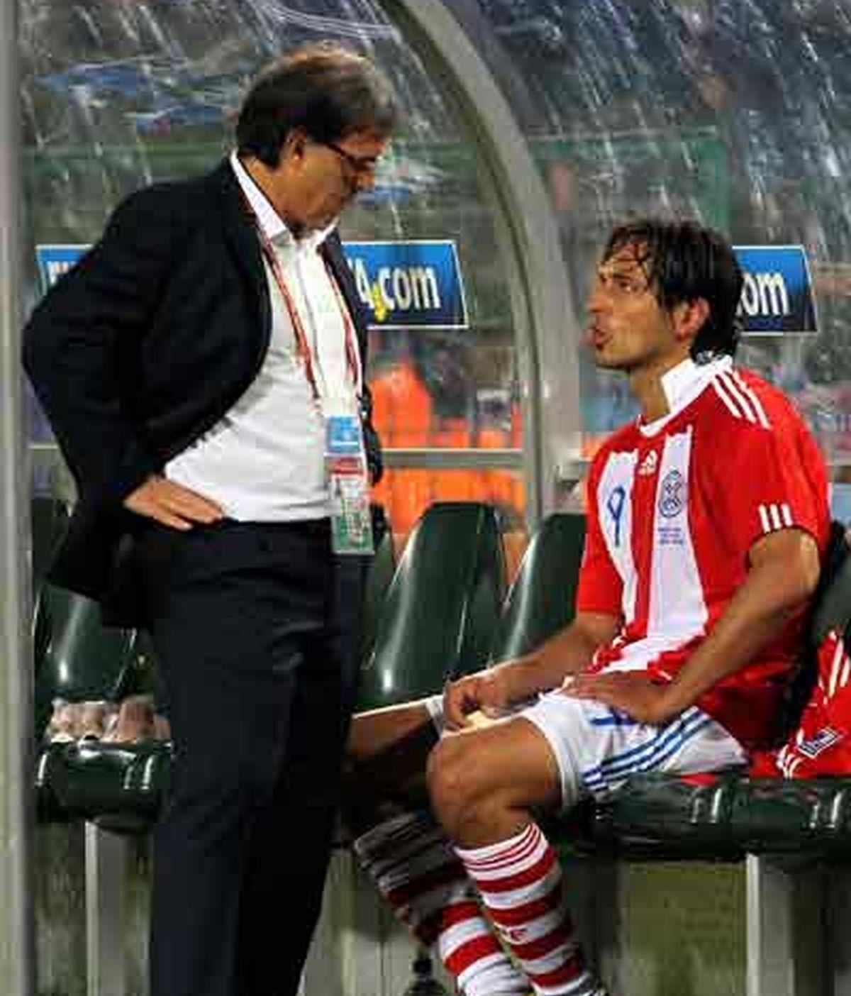 Santa Cruz es un hombre fundamental en el equipo de Martino