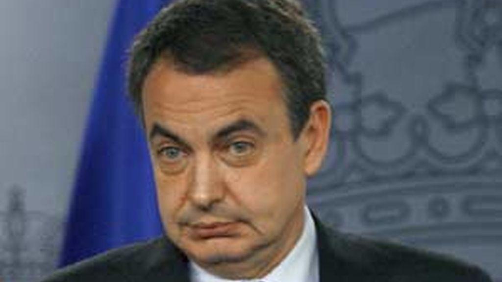 Zapatero ha concedido una entrevista al Financial Times. Foto: EFE