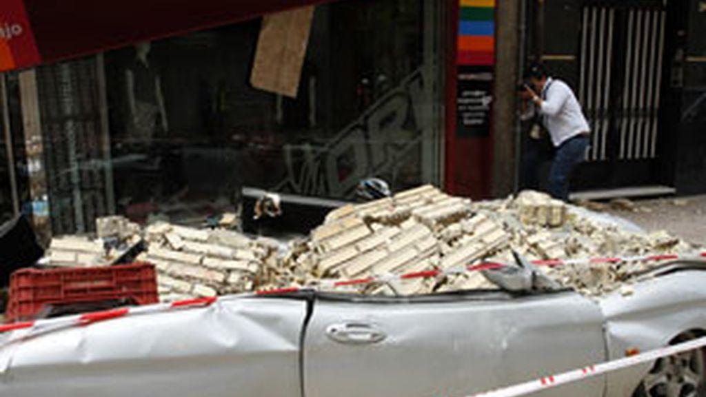 Imagen de los destrozos causados por el terremoto del pasado once de mayo FOTO: REUTERS