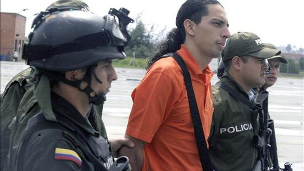 Foto del 20 de noviembre de 2008 de David Murcia Guzmán, creador de DMG y quien fue reclamado en extradición por una corte judicial de Nueva York, que lo procesó el pasado 18 de marzo bajo el cargo de blanqueo de dinero del narcotráfico. EFE/Archivo