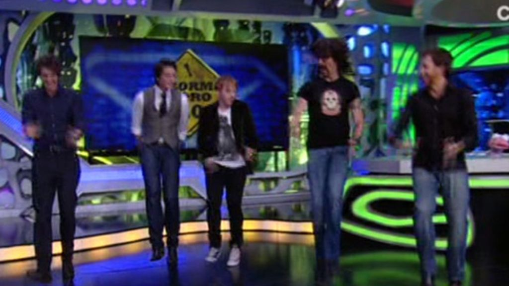 Los actores de Harry Potter bailaron con Pablo Motos y Marron