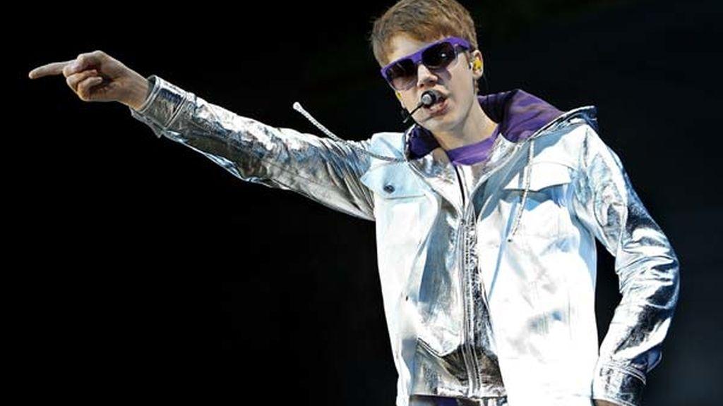 Bieber brilla en España