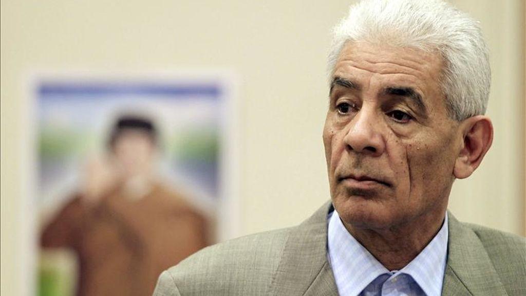 """El excanciller libio Musa """"Kusa (en la imagen) ha cortado los lazos con el régimen libio y hoy Estados Unidos levanta las sanciones contra él"""", dijo el subsecretario del Tesoro para terrorismo e inteligencia financiera, David S. Cohen. EFE/Archivo"""