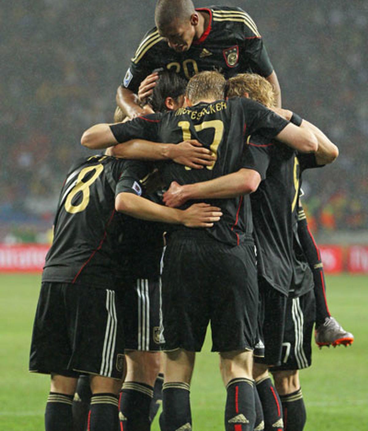 Alemania ganó un partido frenético. VÍDEO: Informativos Telecinco.