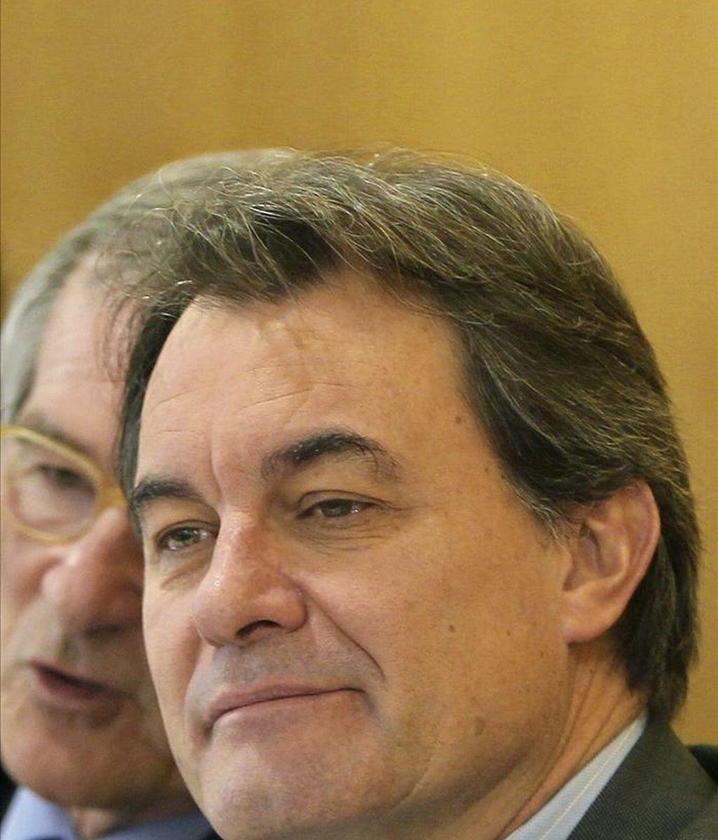 El presidente de la Generalitat y presidente de CiU, Artur Mas. EFE/Archivo