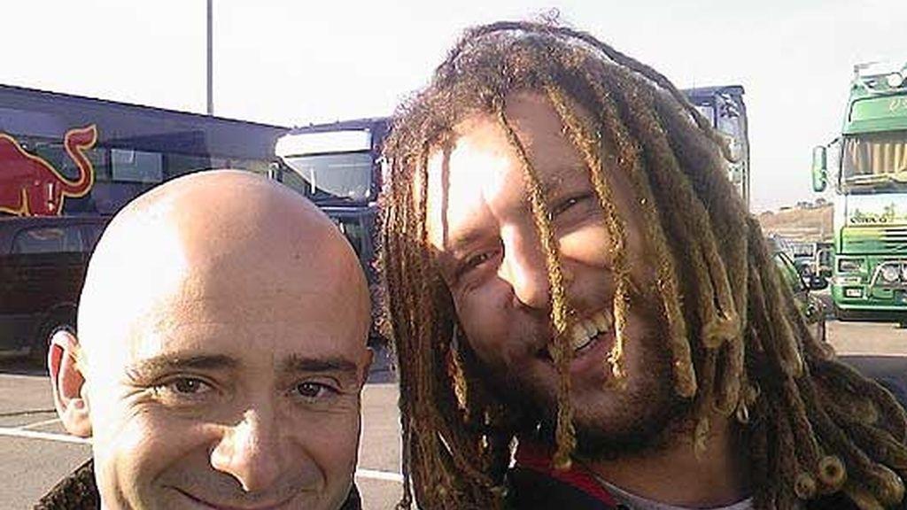 Con Antonio Lobato