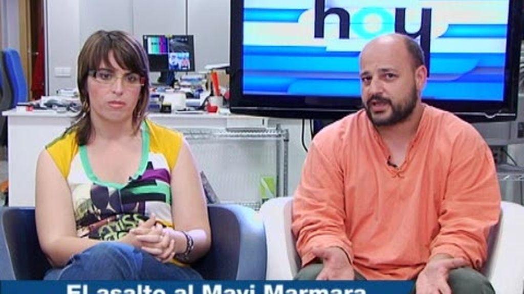Gabilondo entrevista a los cooperantes Miguel Tapial y Laura Arau