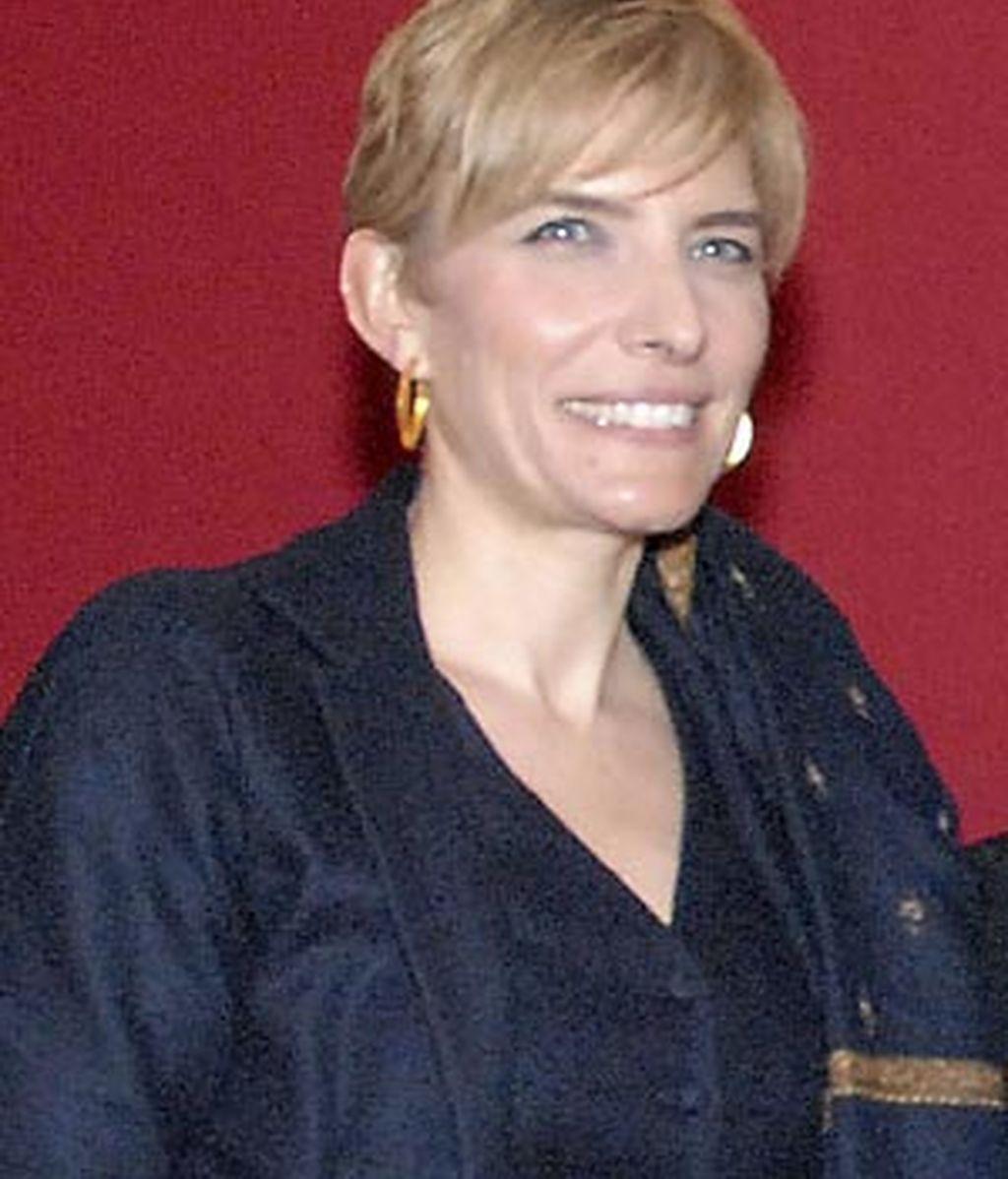Imagen de archivo de la mujer del presidente del Gobierno, Sonsoles Zapatero. Foto: EFE