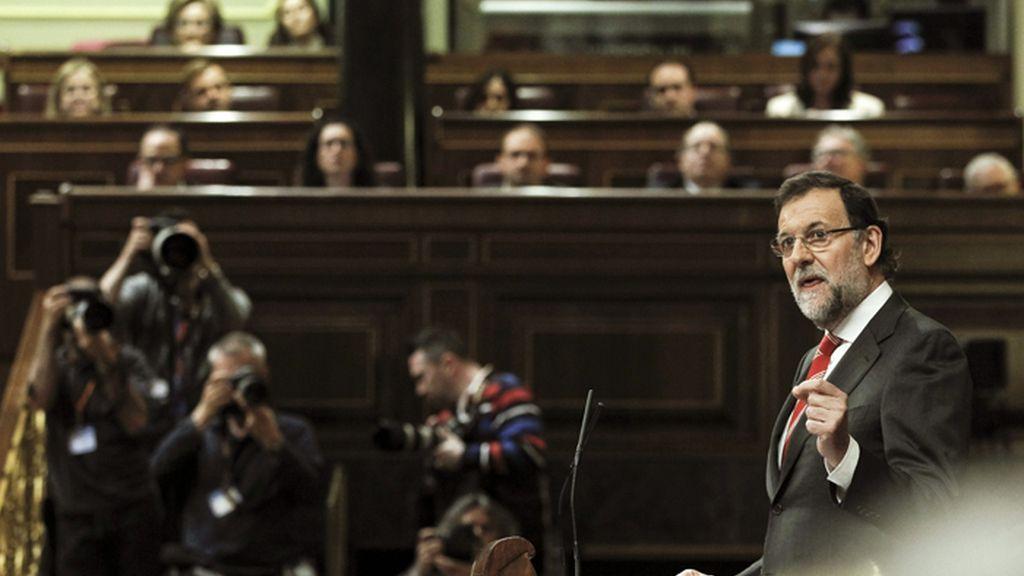 Rajoy interviene en el Pleno del Congreso sobre la consulta soberanista catalana