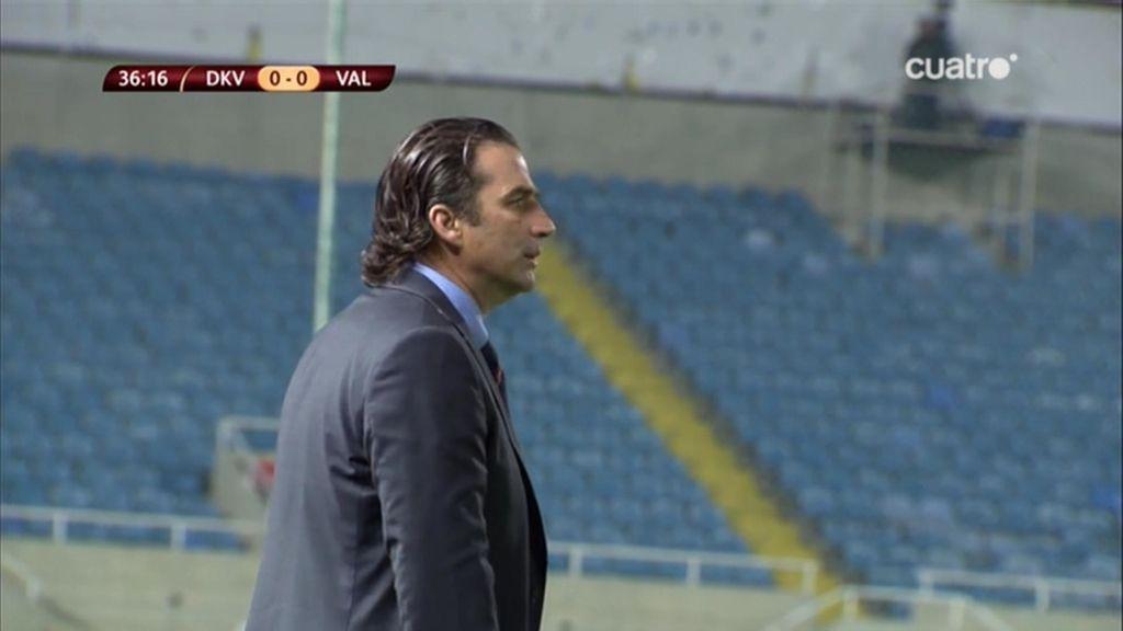 Así lucieron las gradas del GSP Stadium de Nicosia