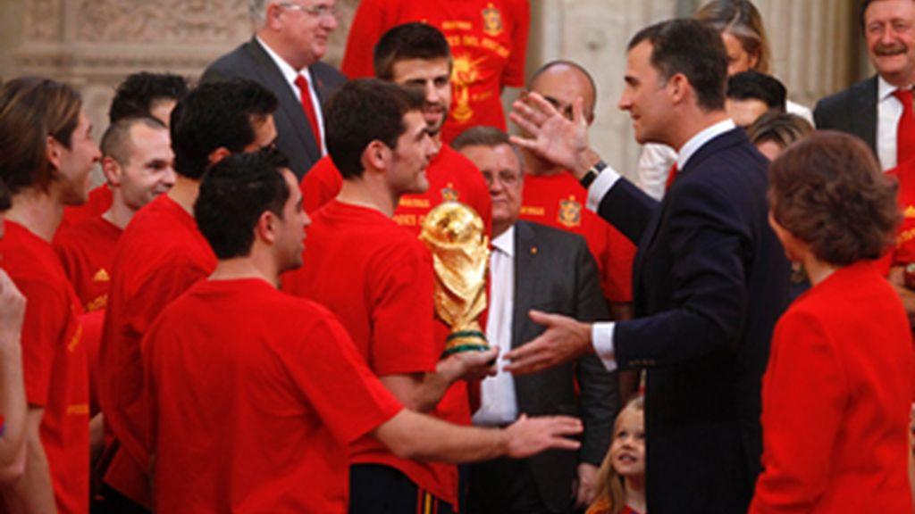 La selección española recorrerá las calles de Madrid