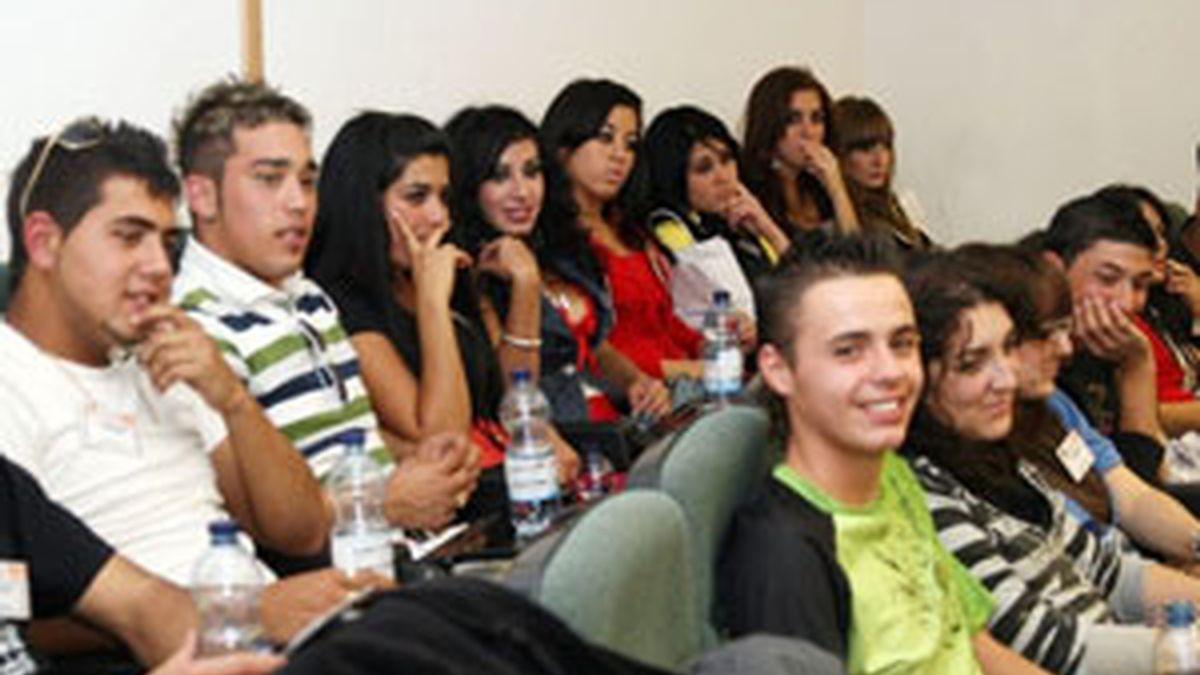 Un grupo de jóvenes gitanos. Foto: Archivo.