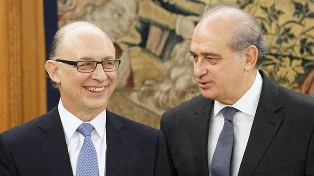Cristóbal Montoro y Jorge Fernández Díaz