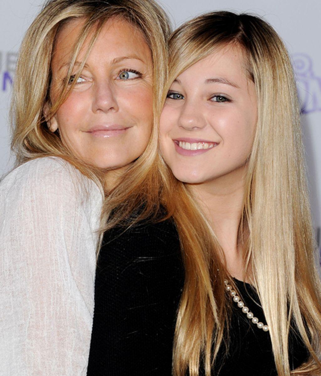 Heather Locklear y su hija, Ava Sambora