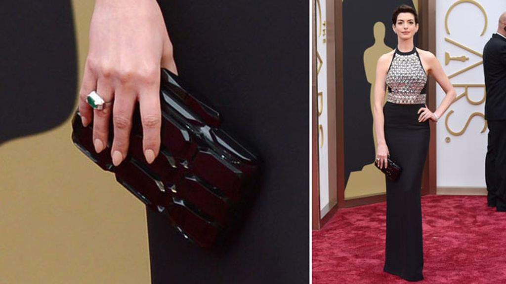 Anne Hathaway llevó joyas de Neil Lane