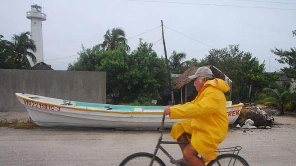 La tormenta 'Dolly' a su paso por Yucatán