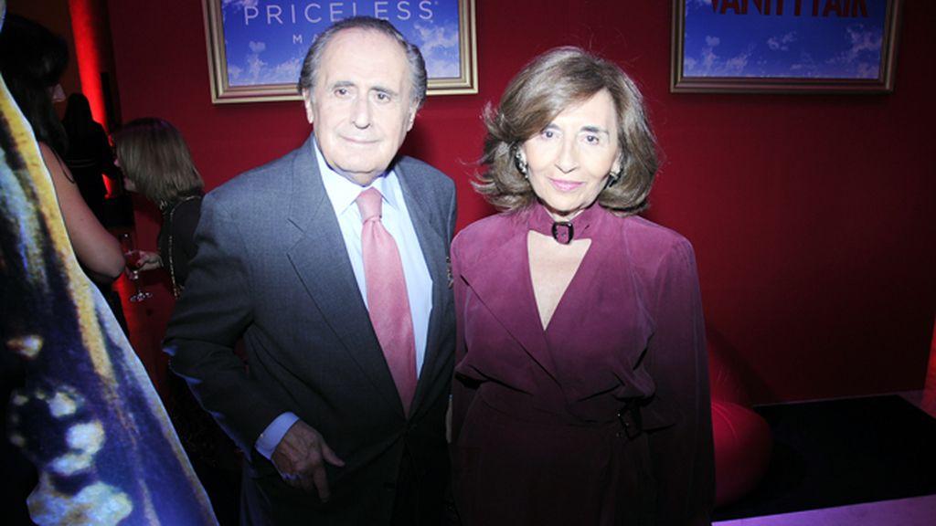 Jaime Peñafiel y su mujer Carmen Alonso del Río